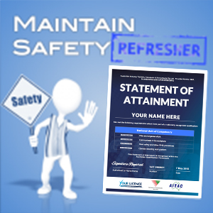 Maintain Safety refresher - SOA