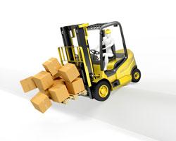 Forklift Spill