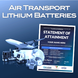Air Transport Lithium Batteries - SOA