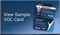V.O.C.card