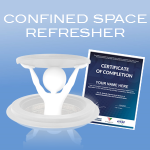 confined space entry refresher online course icon